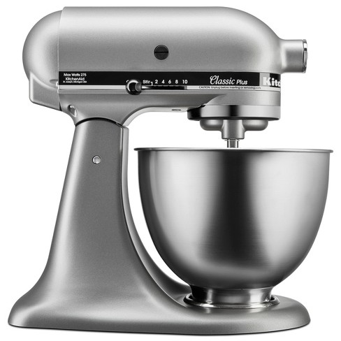 KitchenAid Classic Plus 4.5qt Stand Mixer Silver KSM75