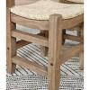 "18"" Davenport Wood Stool Light Amber - Alaterre Furniture - image 3 of 4"