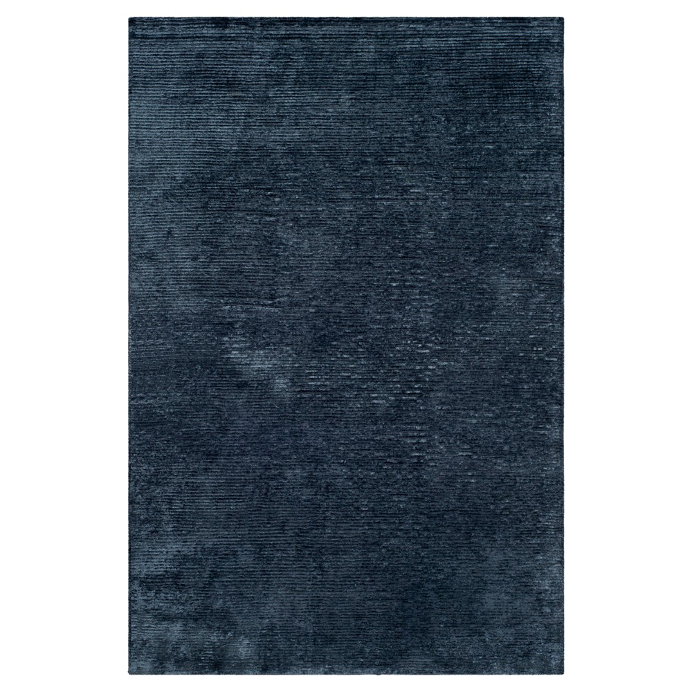 India Ink Solid Knotted Area Rug - (6'x9') - Safavieh