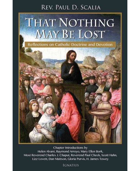 That Nothing May Be Lost : Reflections on Catholic Doctrine and Devotion (Paperback) (Paul D. Scalia) - image 1 of 1