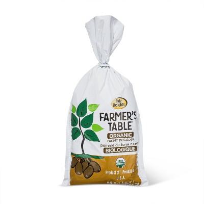 Veg-Land Organic Russet Potatoes - 3lb