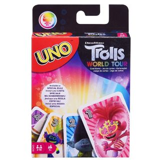 UNO Trolls: World Tour Card Game