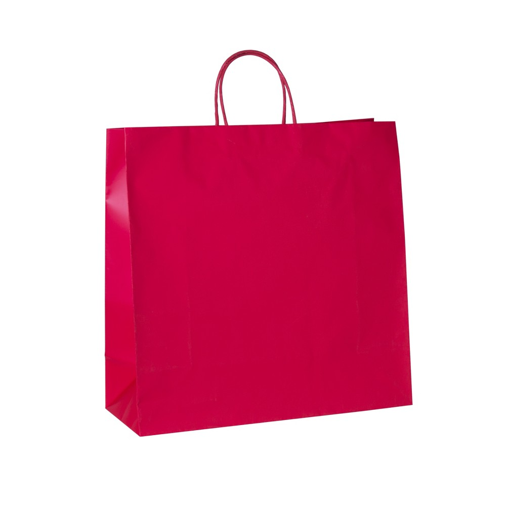 Image of Large Square Gift Bag Red - Spritz