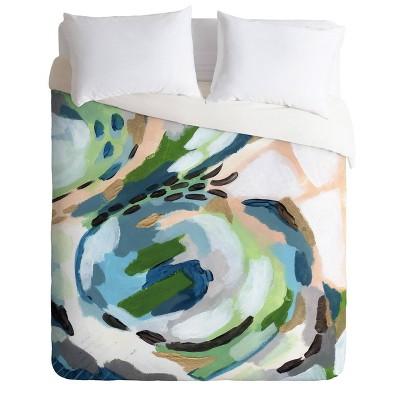 Laura Fedorowicz Greenery Comforter Set - Deny Designs