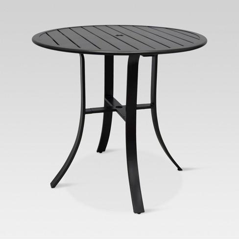 Camden Balcony Height Round Patio Table - Dark Gray - Threshold™ - Camden Balcony Height Round Patio Table - Dark Gray - Threshold