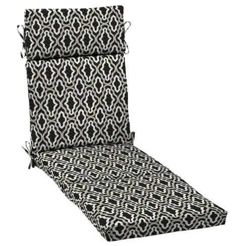DriWeave Amalfi Trellis Outdoor Chaise Cushion - Arden - image 1 of 2