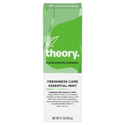 Theory Freshness Care Essential Mint Natural Toothpaste - 3.7oz