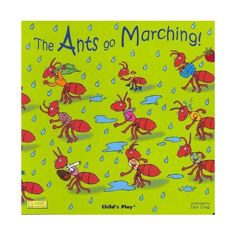 The Ants Go Marching! - (Classic Books with Holes) (Board_book) - image 1 of 1