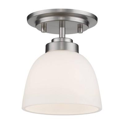 1 Light Flush Mount Pendant - Aurora Lighting