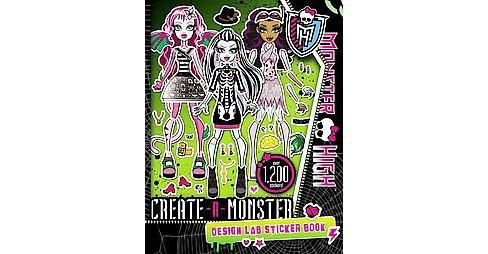 Create A Monster Design Lab Paperback Target