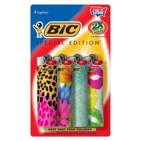 BIC 4ct Special Edition Lighters - image 1 of 1