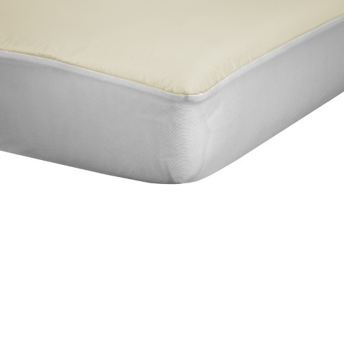sealy allergy protection crib mattress pad cover with organic cotton top target - Organic Cotton Mattress