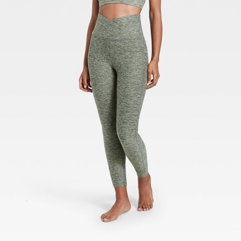 """Women's Contour Curvy Brushed Back Ultra High-Waisted 7/8 Leggings 25"""" - All in Motion™ - image 1 of 4"""