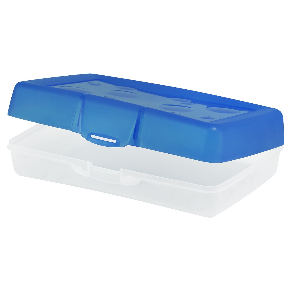 Image of Pencil Case Blue Storex, pencil cases