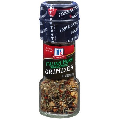 McCormick Italian Herb Seasoning Grinder - .77oz