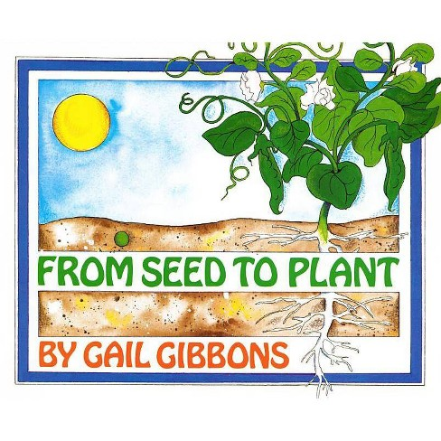 From Seed to Plant - by  Gail Gibbons (Hardcover) - image 1 of 1