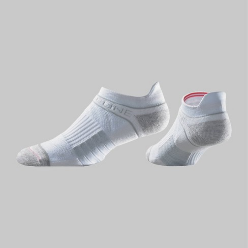 Men's Strideline Low-Rise Athletic Socks  - White One Size - image 1 of 1