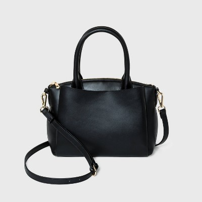 Small Dome Satchel Handbag - A New Day™