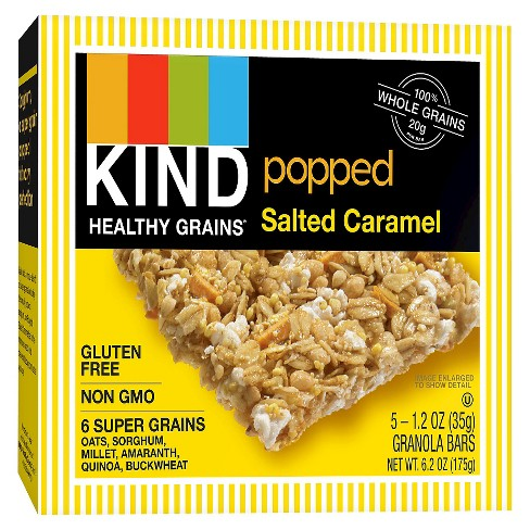 KIND Healthy Grains® Salted Caramel, Gluten Free Granola Bars - 5ct - image 1 of 1
