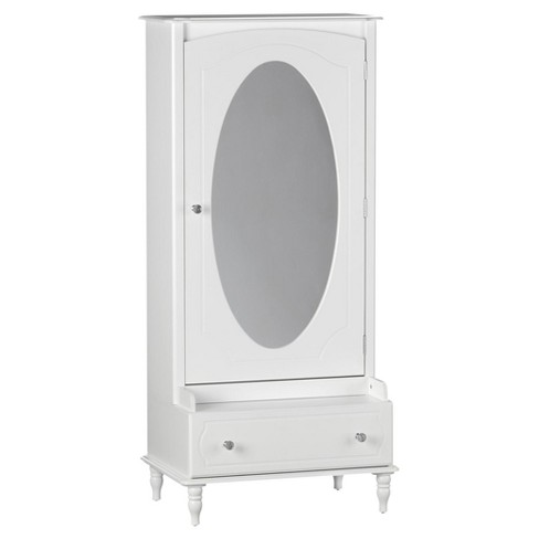 Rowan Valley Laren Armoire with Mirror - Little Seeds - image 1 of 14