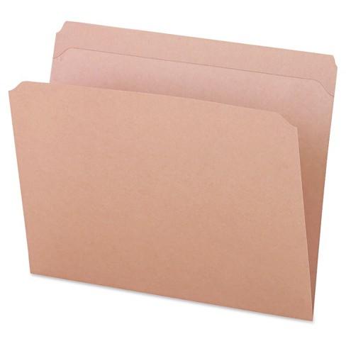 Universal Office 100pk Kraft Letter File Folders Top Tab - image 1 of 1