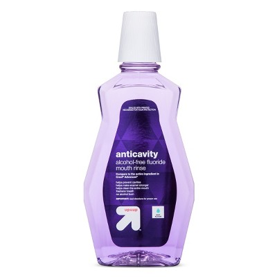 Mouthwash: up & up Anticavity Alcohol-Free