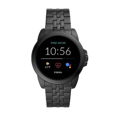 Fossil Gen 5E Smartwatch 44mm - Black Stainless Steel