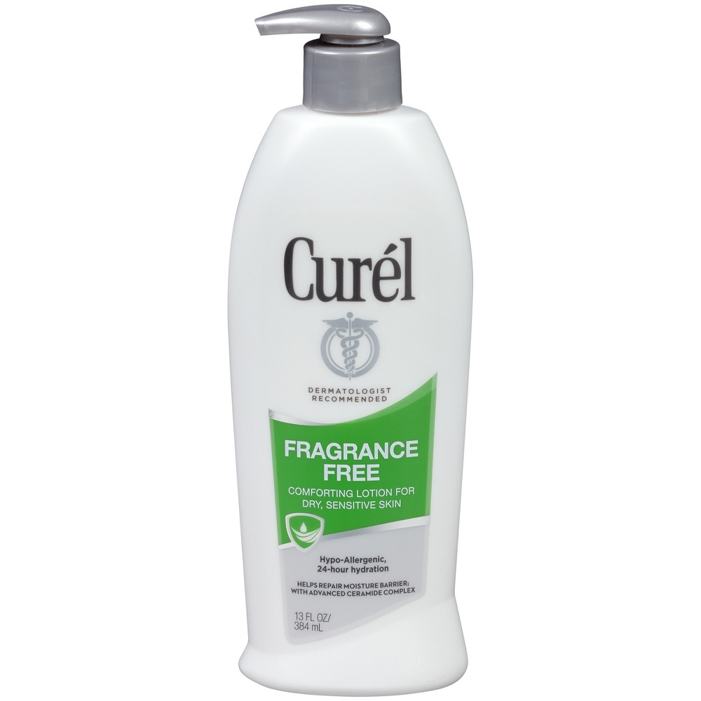Unscented Curel Fragrance Free Body Lotion - 13oz