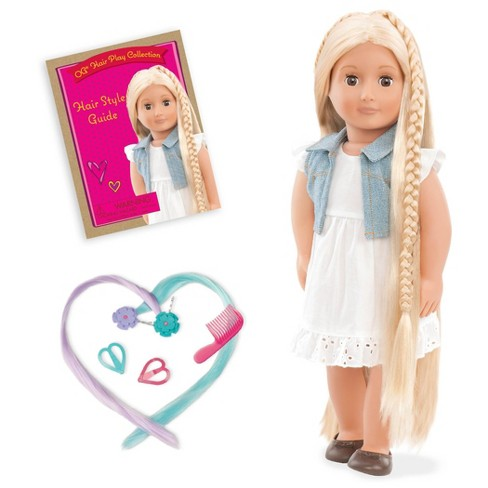 Our Generation Hair Grow Doll - Phoebe - image 1 of 3