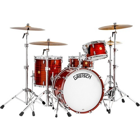 """Gretsch Drums Broadkaster 135th Anniversary 4-Piece Shell Pack with 22"""" Bass Drum in Classic Mahogany - image 1 of 2"""