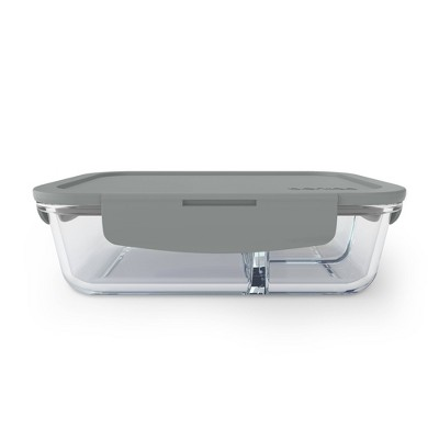 Bentgo Glass Leakproof Lunch Box - Gray