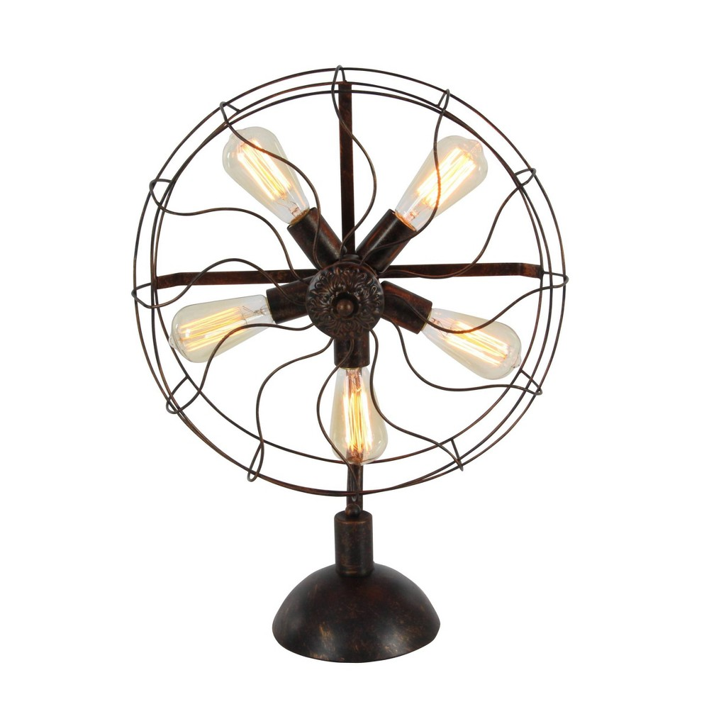 24 34 Eclectic Iron Radial Fan Light Includes Light Bulb Olivia 38 May