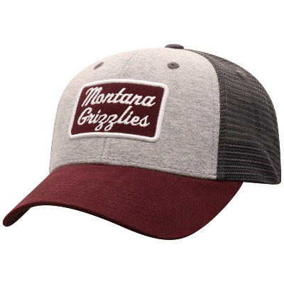 NCAA Montana Grizzlies Men's Gray Cotton with Mesh Snapback Hat