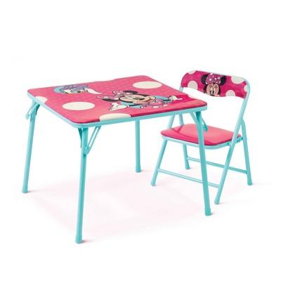Disney Minnie Junior Table & Chair Set