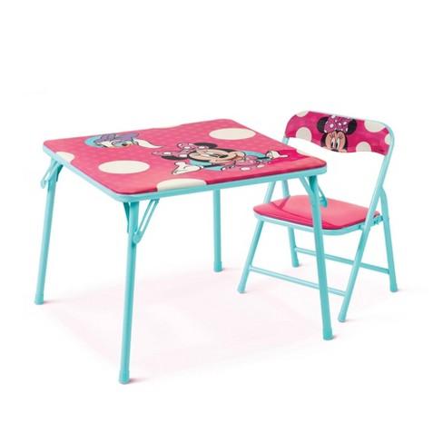Disney Minnie Junior Table & Chair Set - image 1 of 4