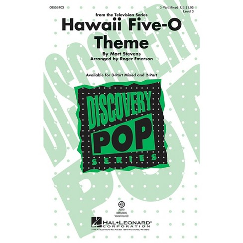 Hal Leonard Hawaii Five-O Theme (Discovery Level 3) 3-Part Mixed arranged by Roger Emerson - image 1 of 1