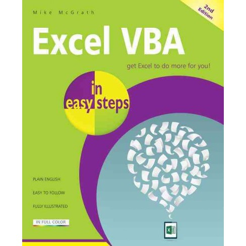 Excel VBA in Easy Steps (Paperback) (Mike McGrath) - image 1 of 1