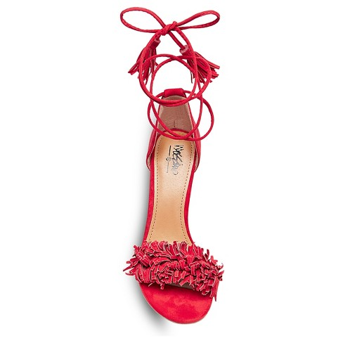 8a6e3b73bc64 Women s Irene Ghille Lace Up Pumps Mossimo™ - Red 6   Target