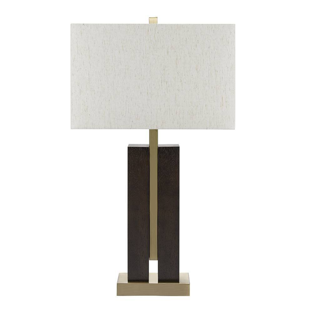 Cooper Table Lamp Clear (Includes Energy Efficient Light Bulb) - Cresswell Lighting