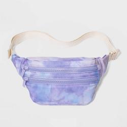 Women's Tie Dye Small Zip Closure Fanny Pack - Wild Fable™