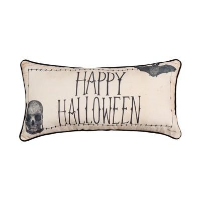 "C&F Home 12"" x 24"" Happy Halloween Printed Throw Pillow"