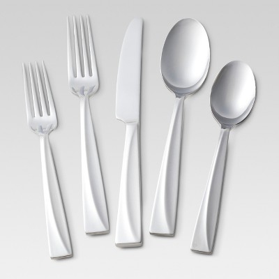 Alma Sand Silverware Set 20-pc. Stainless Steel - Threshold™