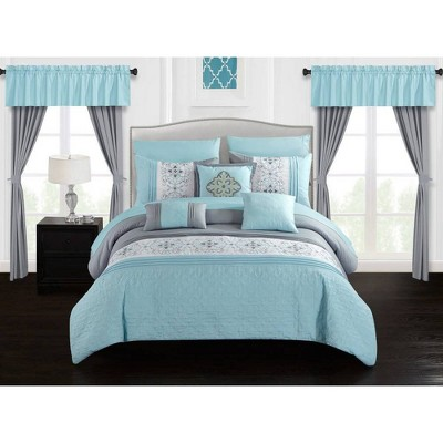 Chic Home Herta King Bed in a Bag Comforter Set