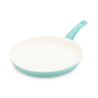 GreenLife 12  Ceramic Non-Stick Open Frypan Turquoise