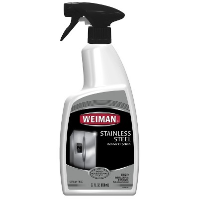 Weiman Stainless Steel Cleaner and Polish Trigger - 22oz
