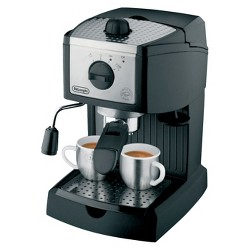 Delonghi High Pressure 15 bar Espresso Maker - Black EC155M