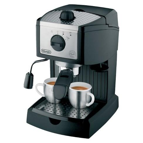 Delonghi High Pressure 15 bar Espresso Maker - Black EC155M - image 1 of 4
