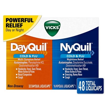 DayQuil + NyQuil LiquiCaps