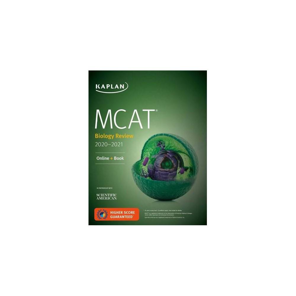 Kaplan Mcat Biology Review 2020-2021 - Pap/Psc (Kaplan Mcat Biology Review) (Paperback)