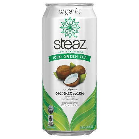 Steaz Green Tea Coconut - 16 fl oz Can - image 1 of 1